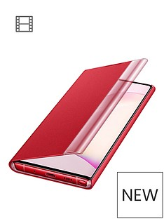 samsung-samsung-galaxy-note-10-clear-view-cover-red