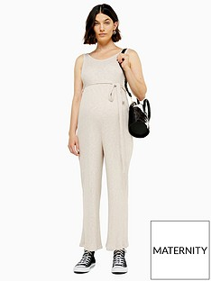 topshop-topshop-maternity-rib-slouch-jumpsuit-natural