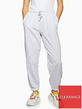 topshop-petite-soft-joggers-grey-marl