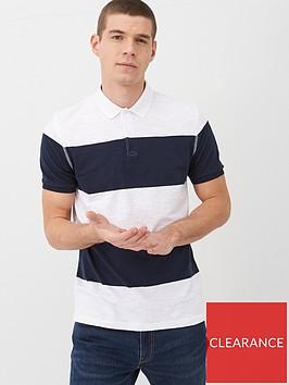 very-man-slub-colour-block-polo-shirt-multi-coloured