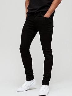 very-man-superskinny-jeannbspwith-stretch-black