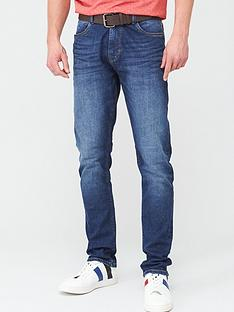 very-man-belted-slim-mid-wash-jeans-mid-wash