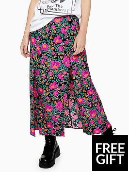 topshop-topshop-austin-floral-midi-skirt-pink