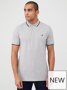 v-by-very-essentials-tipped-pique-polo-grey
