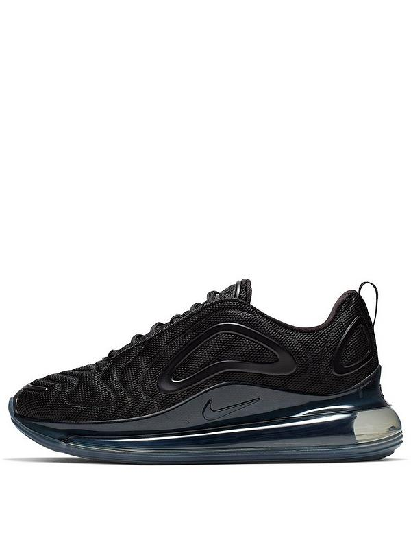 principalmente Broma Horizontal  Nike Air Max 720 - Black | very.co.uk