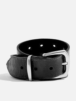 topshop-hole-detail-silver-buckle-belt-black