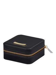 ted-baker-ted-baker-ladies-zipped-jewellery-case-black
