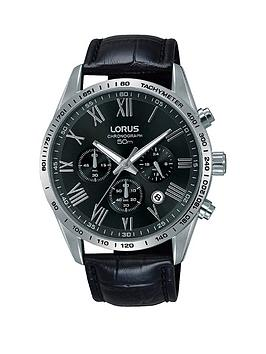 lorus-lorus-black-and-silver-detail-chronograph-dial-black-leather-strap-mens-watch