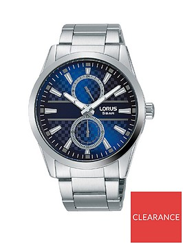 lorus-lorus-blue-and-silver-detail-multi-dial-stainless-steel-bracelet-mens-watch