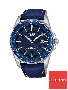 pulsar-pulsar-solar-accelerator-blue-date-dial-blue-leather-strap-mens-watch