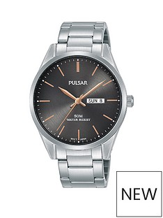 pulsar-pulsar-grey-sunray-and-rose-gold-detail-daydate-dial-stainless-steel-bracelet-mens-watch