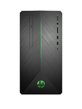 Hp Pavilion Gaming 690-0040Na Intel Core I5, 8Gb Ram, 2Tb Hard Drive &Amp; 256Gb Ssd, Gtx 1660 6Gb Graphics, Gaming Desktop Pc - Black