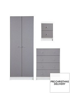 kansas-piece-childrens-bedroom-package-2-door-2-drawer-wardrobe-4-drawer-chest-and-2-drawer-bedside-chest
