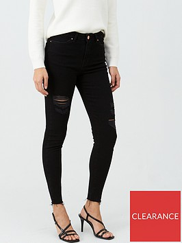 v-by-very-ella-high-thigh-rip-skinny-jean-black