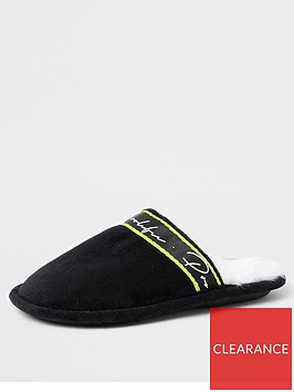 river-island-boys-prolific-mule-slippers-black