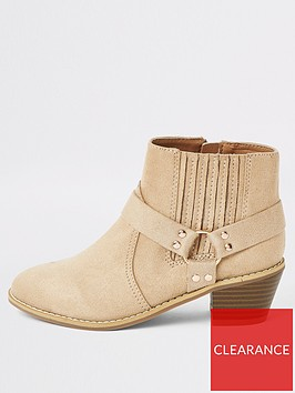river-island-girls-faux-suede-western-helled-boots