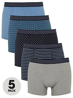 very-man-5-pack-prints-amp-solids-trunks-multi