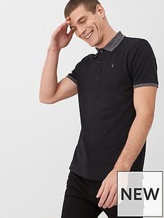 v-by-very-marl-collar-jersey-polo-shirt-black