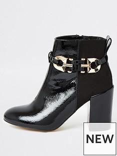 river-island-patent-boot-black