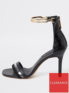 river-island-river-island-gold-ankle-cuff-barely-there-sandal-black