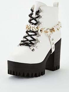 public-desire-bribe-ankle-boots-white