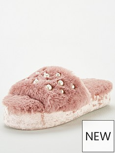 v-by-very-pearl-embellished-slider-slippers-mink
