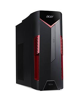Acer Nitro N50-600 Intel Core I5 ,8Gb Ram ,1Tb Hard Drive ,Nvidia Gtx 1650 Gaming Desktop - Black