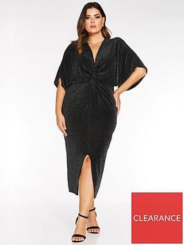 quiz-curve-brillo-knot-front-dress