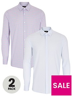 very-man-2-pack-work-shirts-multi