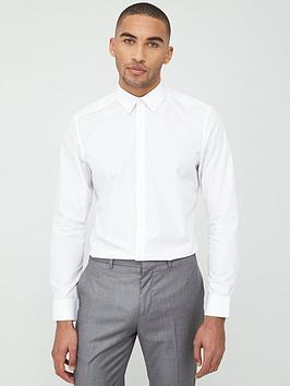 v-by-very-long-sleeved-button-down-oxford-shirt-white