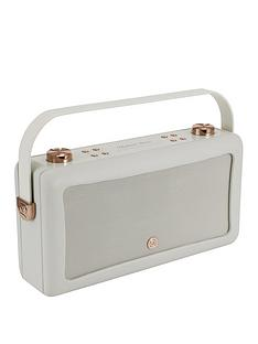 VQ Hepburn Voice DAB Radio and Bluetooth Speaker - Grey and Copper