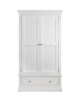 julian-bowen-clermont-2-door-1-drawer-wardrobe-white