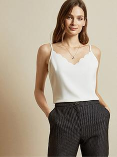 ted-baker-scallop-neckline-cami-top-ivory
