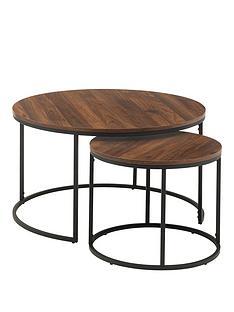 julian-bowen-bellini-round-nest-of-2-tables