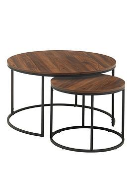 julian-bowen-bellini-round-nest-of-2-tables