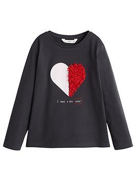 mango-girls-long-sleeve-heart-applique-t-shirt-black