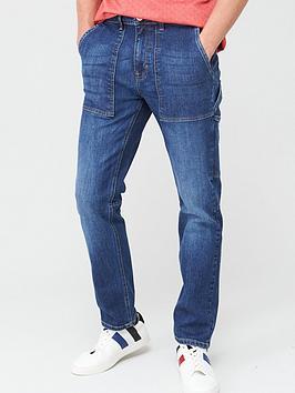 v-by-very-straight-carpenter-jeans-bright-blue