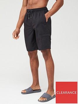 very-man-basic-longer-length-swimshorts-black