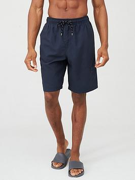 very-man-basic-longer-length-swimming-shorts-navy