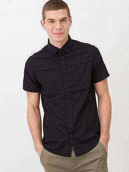 v-by-very-utility-ripstop-shirt-black