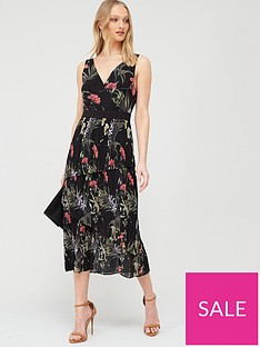 ted-baker-malinae-highland-sleeveless-midi-dress-black