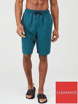 very-man-basic-longer-length-swimming-shorts-teal