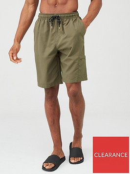 very-man-basic-longer-length-swimming-shorts-khaki