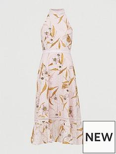 ted-baker-cabana-lace-detail-halterneck-dress-pink