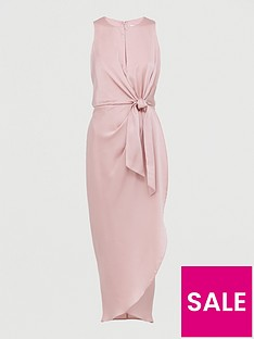 ted-baker-keyhole-detail-midi-dress-pink