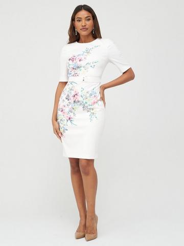 16 14 New Ted Baker Narnia Collar Skater Dress Size UK 12