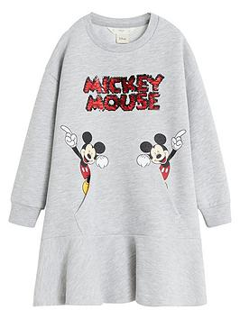 mango-girls-mickey-mouse-sequin-sweat-dress-grey