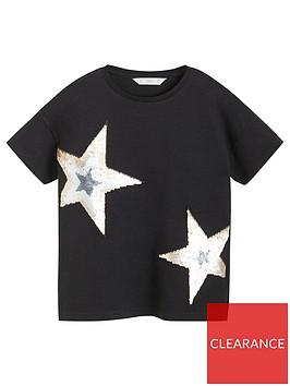 mango-girls-short-sleeve-sequin-star-t-shirt-black