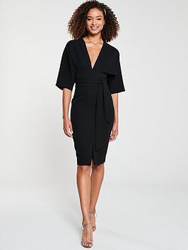 v-by-very-milana-kimono-sleeve-pencil-dress