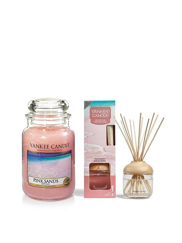 Yankee Candle Classic Large Jar Candle In Pink Sands 1205337E